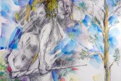 2020-crabbe-dame-a-la-licorne-02-21X30-aquarelle